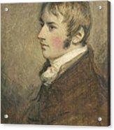 Portrait Of John Constable Aged Twenty Acrylic Print