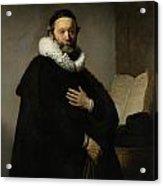 Portrait Of John Wtenbogaert Acrylic Print