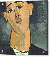 Portrait Of Juan Gris Acrylic Print