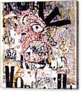 Portrait Of Kurt Vonnegut Acrylic Print