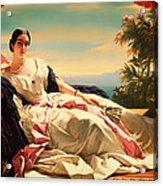 Portrait Of Leonilla Acrylic Print