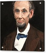Portrait Of Lincoln Acrylic Print