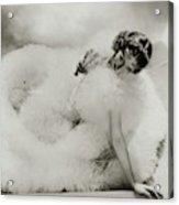 Portrait Of Loretta Young Acrylic Print