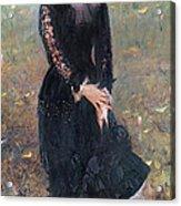 Portrait Of Madame Edouard Pailleron Acrylic Print