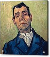 Portrait Of Man Acrylic Print