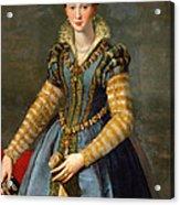 Portrait Of Maria De Medici Or Eleonora Di Garzia Di Toledo Acrylic Print