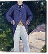 Portrait Of Monsieur Brun Acrylic Print