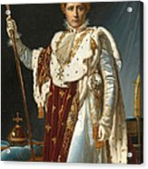 Portrait Of Napoleon In Coronation Robes Acrylic Print