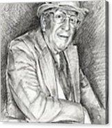 Portrait Of Paul England Acrylic Print
