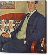 Portrait Of Peter Kapitza 1926 Acrylic Print