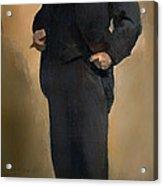 Portrait Of Samuel L Clemons - Mark Twain Acrylic Print