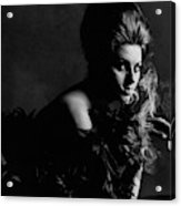 Portrait Of Sophia Loren Acrylic Print