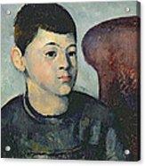 Portrait Of The Artists Son Acrylic Print
