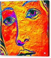 Portrait Of Venus Acrylic Print