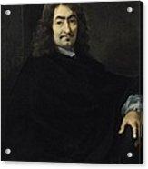 Portrait Presumed To Be Rene Descartes Acrylic Print