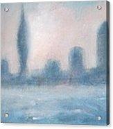 Portsmouth Dawn Part Three Acrylic Print by Alan Daysh