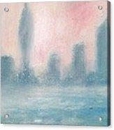 Portsmouth Dawn Part Two Acrylic Print by Alan Daysh