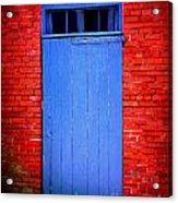 Portsmouth Door 6 Acrylic Print