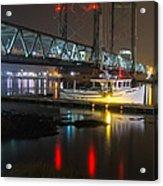 Portsmouth Harbor Boats 2 Acrylic Print