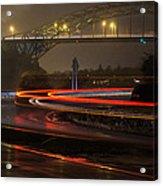 Portsmouth Harbor Bridge Acrylic Print
