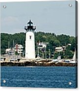 Portsmouth Nh Harbor Acrylic Print