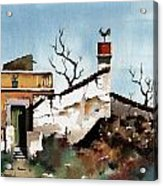 Portugal  Abandoned Nr  Loule Acrylic Print