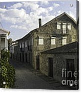 Portugal Small Town Acrylic Print