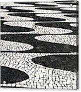 Portuguese Pavement Acrylic Print