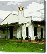 Posada De Laguna Lodge Acrylic Print