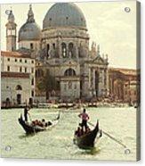 Postcard From Venice Acrylic Print
