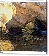 Poseidons Grotto Acrylic Print