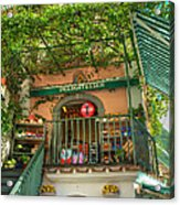 Positano Deli Acrylic Print by Bob and Nancy Kendrick