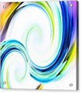 Positive Energy Acrylic Print