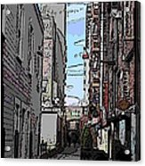 Post Alley 6 Acrylic Print