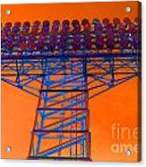 Post Apocalyptic Light Tower Acrylic Print