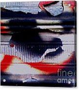 Post Graffiti Acrylic Print