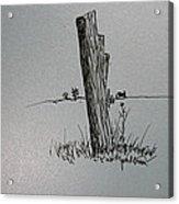 Post Line Acrylic Print