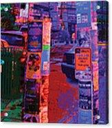 Post No Bills Panel 2 Of 3 Acrylic Print