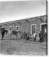 Post Office In Ganado, Arizona Acrylic Print