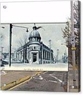 Post Office In Pawtucket Rhode Island Acrylic Print