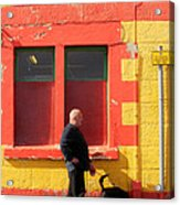 Post Office Tobermory No Stopping Acrylic Print