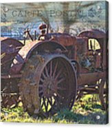 Postcard From The Past Acrylic Print by Kathy Jennings