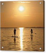 Postcards From Paradise Acrylic Print