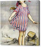 Poster Banque De Paris Acrylic Print