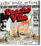 Poster Telly Savalos Pancho Villa In Pancho Villa 1972-2013 Acrylic Print