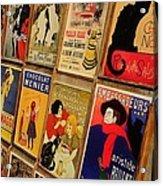 Posters In Paris Acrylic Print