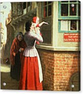 Posting A Letter, 1879 Acrylic Print
