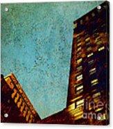 Postscript Acrylic Print