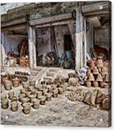 Pot Sellers Acrylic Print
