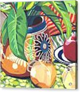 Pot With Onions Acrylic Print